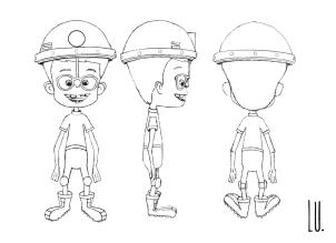 Diseño del personaje Mario